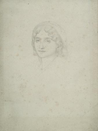 Study of a Female Head, Capri, 1859