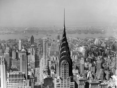 Aerial of Midtown Manhattan