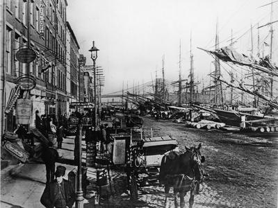 South Street Seaport New York