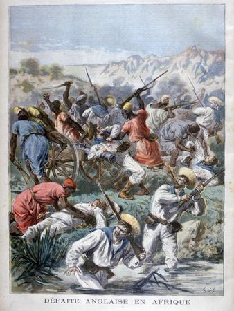 Defeat for the British in Africa, 1894