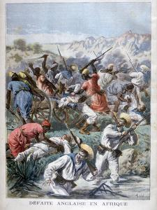 Defeat for the British in Africa, 1894 by Frederic Lix