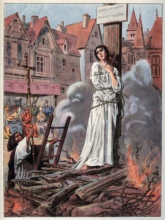 Joan of Arc at the Stake, 1430