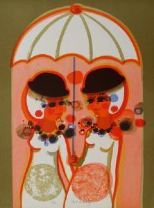 Les Angeliques - le Parapluie by Frédéric Menguy