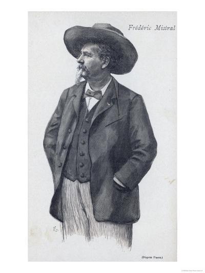 Frederic Mistral Provencal Writer Nobel Prizewinner--Giclee Print