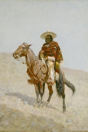 A Mexican Vaquero, 1890