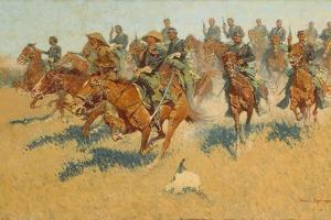 On the Southern Plains, 1907 by Frederic Remington