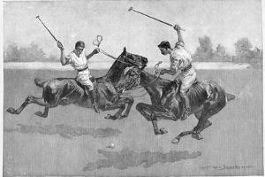 Polo Players, 1890 by Frederic Remington