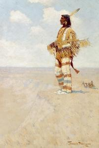 The Last of His Race (The Vanishing American), 1908 by Frederic Remington