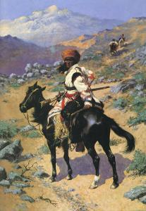 An Indian Trapper, 1889 by Frederic Sackrider Remington