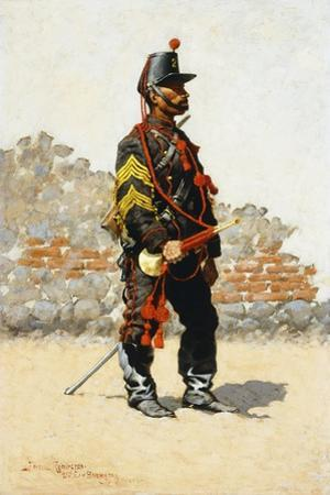 Bugler of the Cavalry, 1889