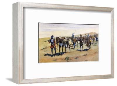 Coronado's March, 1540
