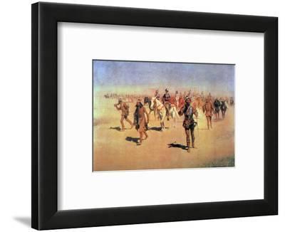 "Francisco Vasquez De Coronado Making His Way Across New Mexico, from ""The Great American Explorers"""