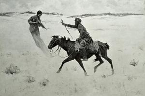 How Order No. 6 Went Through, or the Vision by Frederic Sackrider Remington