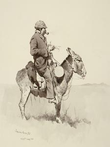 Jack's Man William, A Modern Sancho Panza by Frederic Sackrider Remington