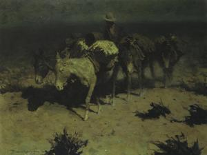 Pack Train, 1909 by Frederic Sackrider Remington