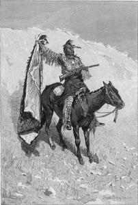 Racial, Friendly Scout by Frederic Sackrider Remington