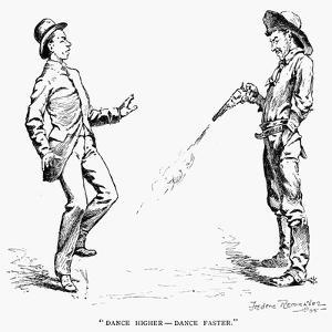 Remington: Cowboy, 1888 by Frederic Sackrider Remington