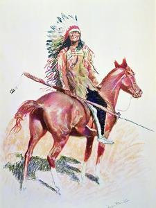 Sioux Chief by Frederic Sackrider Remington