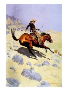 The Cowboy, 1902 by Frederic Sackrider Remington