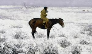 The Herd Boy by Frederic Sackrider Remington