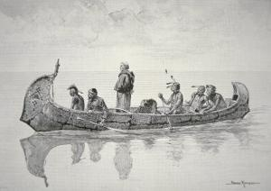 The Missionary by Frederic Sackrider Remington
