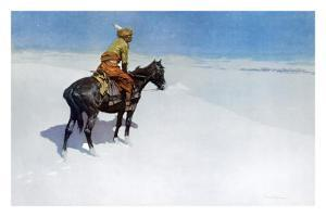 The Scout: Friends or Enemies? by Frederic Sackrider Remington