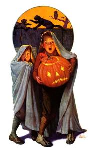 """""""Halloween Scare,""""November 2, 1935 by Frederic Stanley"""