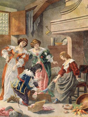 Cinderella by Frederic Theodore Lix