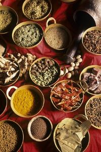 Still Life with Exotic Spices by Frederic Vasseur