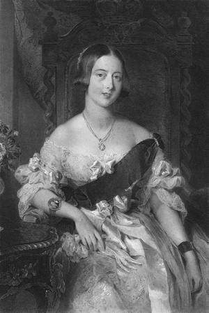 Queen Victoria (1819-190), 1851