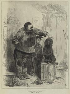 Achille's Toilet by Frederick Barnard