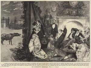 The Interrupted Ghost Story by Frederick Barnard