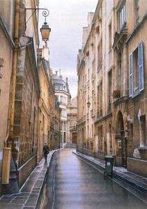 Marais Street, 2000 by Frederick Brosen