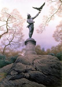 The Falconer, 1997 by Frederick Brosen