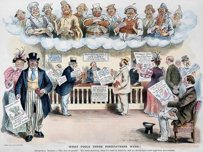 Foolish Forefathers, 1894