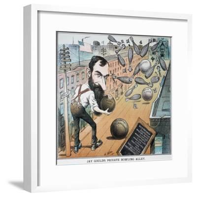 Jay Gould Cartoon, 1882