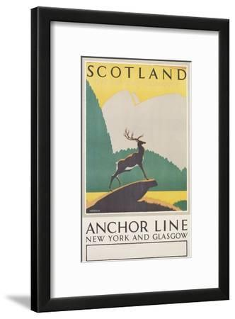 Scotland: the Land of Romance Poster