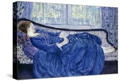 Girl in Blue, 1917