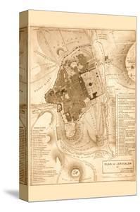 Solomon's Temple - Jerusalem by Frederick Catherwood