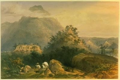 Views of Ancient Monuments in Palenque, Illustration from 'Incidents of Travel in Central… by Frederick Catherwood