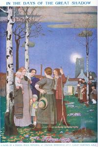 In the Days of the Great Shadow by Frederick Cayley Robinson