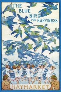 'The Blue Bird for Happiness by Frederick Cayley Robinson