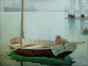 The Outward Bound, 1912 by Frederick Cayley Robinson