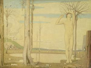 Youth, 1923 by Frederick Cayley Robinson