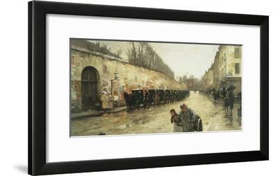 Cab Station, Rue Bonaparte, 1887