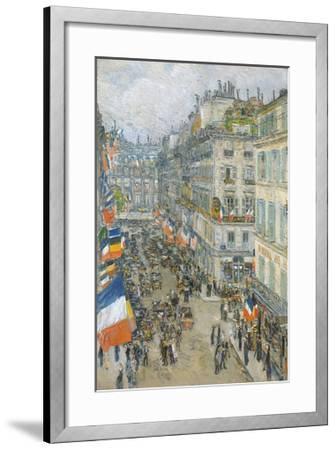 July Fourteenth, Rue Daunou, 1910