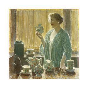 Strawberry Tea Set, 1912 by Frederick Childe Hassam