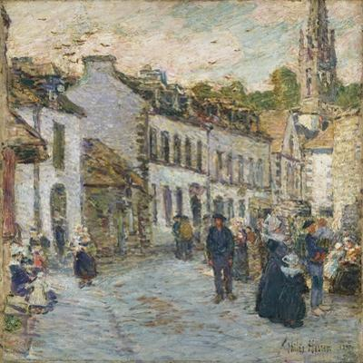 Street in Pont Aven, 1897