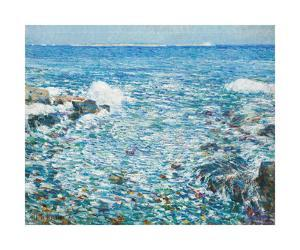 Surf, Isles of Shoals, 1913 by Frederick Childe Hassam