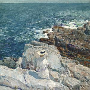 The South Ledges, Appledore by Frederick Childe Hassam